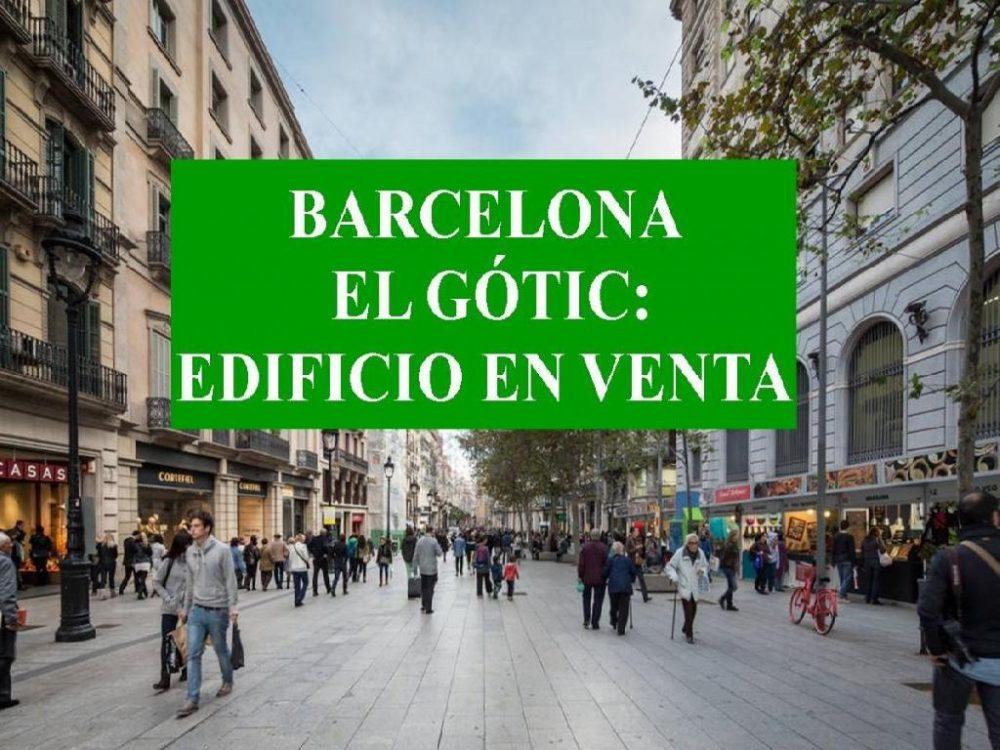 EDIFICIO EN EL GÓTICO. BARCELONA