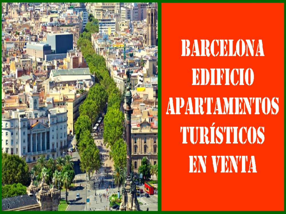 BARCELONA. EDIFICIO EN VENTA EN CIUTAT VELLA