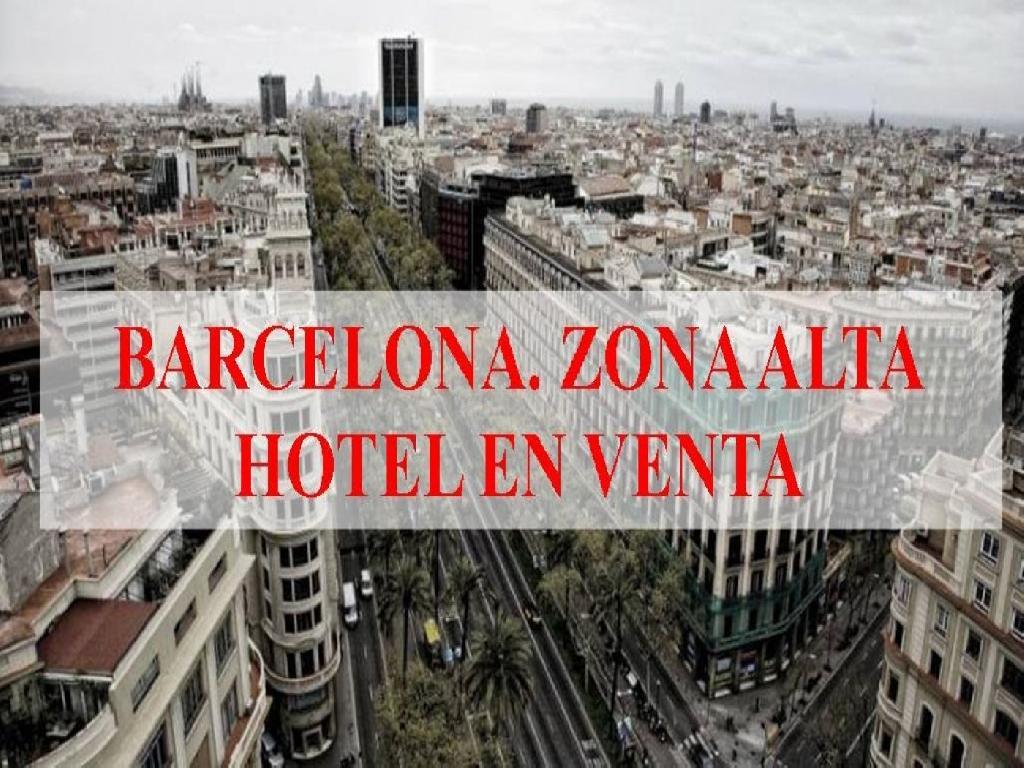 HOTEL EN VENTA EN BARCELONA CIUDAD. A ESTRENAR.